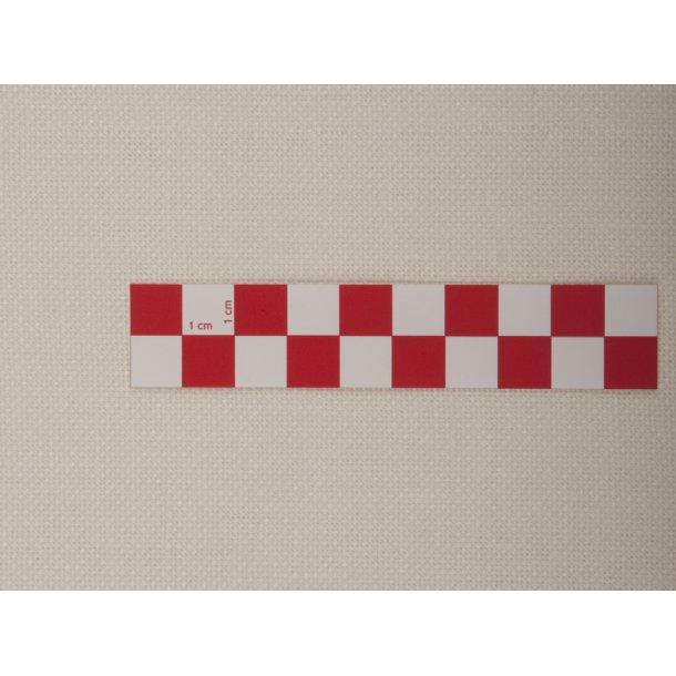Metervare hvid og ecru/creme hør 180 cm bred med 10 tråde pr. cm, pris pr. 0,5 mtr.