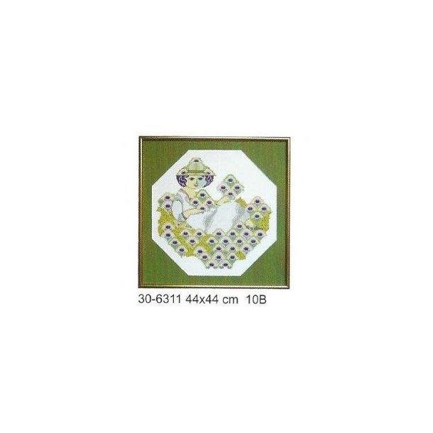 Wiinblad : Grønne motiver, damer og blomster