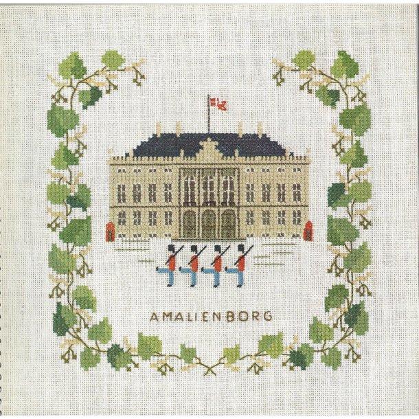 Motiver fra København kit fra  Håndarbejdets Fremme