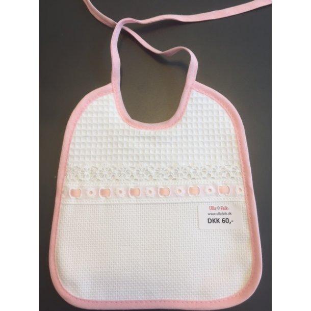 Babyhagesmæk i 3 farver- med 5,4 aida stofforside- klar til dit design
