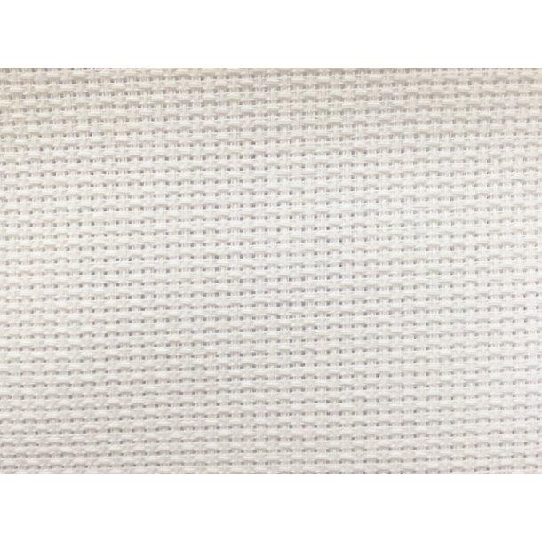 Metervare Aida 160 cm bred i bomuld - finhed 4,4 sting pr.cm /11 count , pris pr. 0,5 mtr.