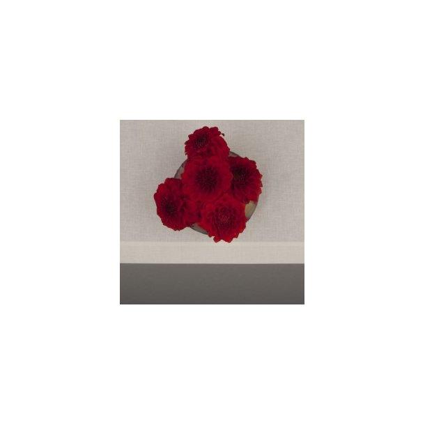 Mellemfin cremefarvet (Ubleget) dug i hør/polyester med og uden hulsøm