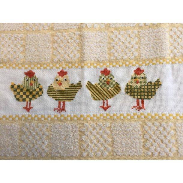 4 høner - påske